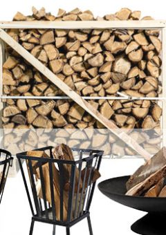 Pallet hout plus vuurkorf
